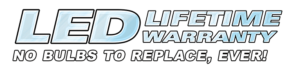 LED Lifetime Warranty LOGO