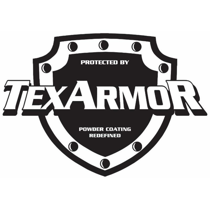 Presented By Texarmor Logo powder coating