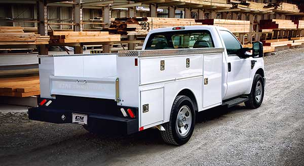CM Truck Beds Service Body Aluminum