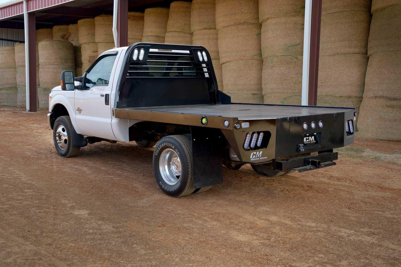 Ss Steel Flat Deck Body Cm Truck Beds