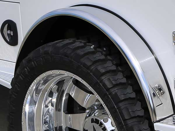CM Truck Beds Stainless Steel Fenders