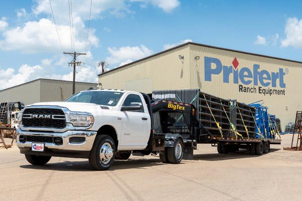 CM Truck Beds Hot Shot Truck Bed Hauling Materials
