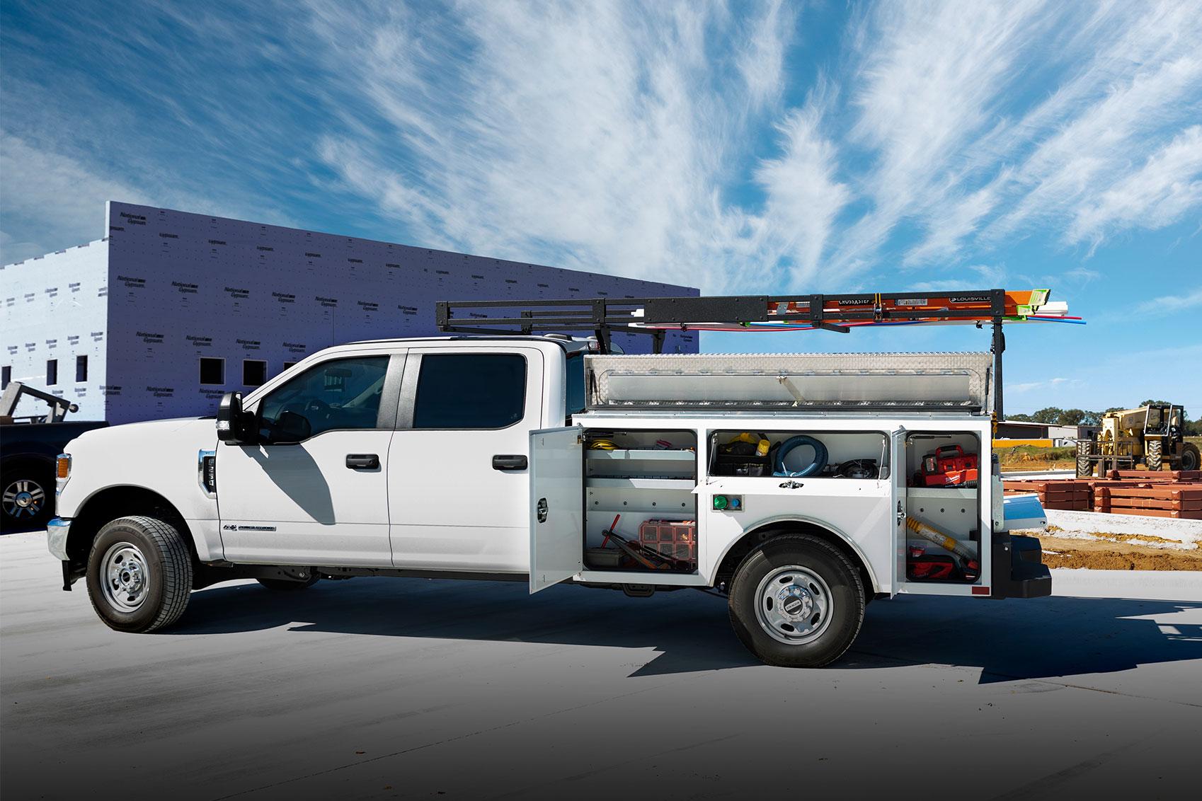 CM Truck Beds Gen2 Service Body
